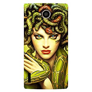 FASHEEN Premium Designer Soft Case Back Cover for Reliance Jio Lyf Flame 7S