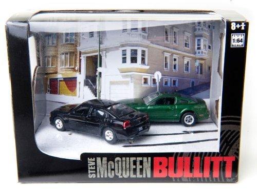 bullitt-diorama-series-5-steve-mcqueen-2008-ford-mustang-gt-bullitt-and-2008-dodge-charger-srt8-1-64