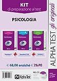 eBook Gratis da Scaricare Alpha Test Kit 3 libri per i test di ammissione a Psicologia Manuale esercizi prove di verifica 7 (PDF,EPUB,MOBI) Online Italiano