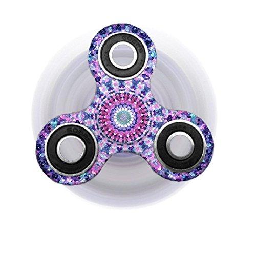 Preisvergleich Produktbild Boomli 2017 Fidget Spinner Dreieck Einzelfinger Dekompression Gyro Hand Spinner Fingerspitzen Gyro (A)
