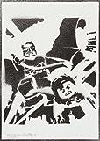 moreno-mata Lego Batman der Film Handmade Street Art - Artwork - Poster
