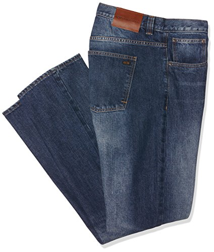 Dunderdon Workwear P50 Stonewashed Denim Jeans, stonewashed, W42 L34 -
