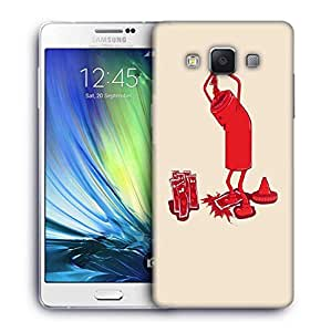 Snoogg ketchup 2875 Designer Protective Back Case Cover For Samsung Galaxy ON5