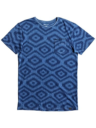 Herren T-Shirt Quiksilver Ding Repairs T-Shirt Light Indigo