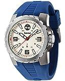 Timberland Men's Blue Rubber Strap Watch