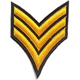 EJÉRCITO Logo ' 7.5 x 10.0 cm ' - Parche Termoadhesivos Bordado Parches Para La Ropa Termoadhesivo Apliques Iron on Patch Catch The Patch