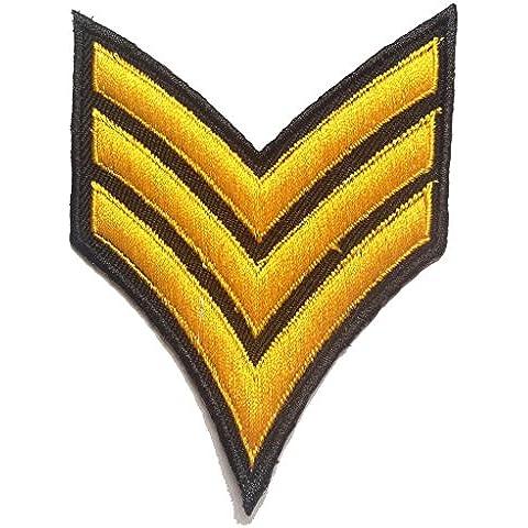 EJÉRCITO Logo ' 7.5 x 10.0 cm ' - Parche Termoadhesivos Bordado Parches Para La Ropa Termoadhesivo Apliques Iron on Patch Catch The