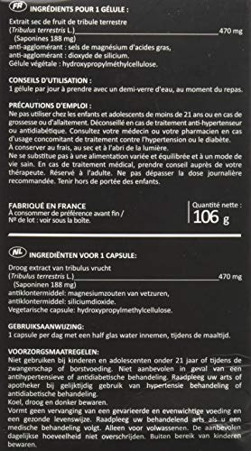 TRIBULUS TERRESTRIS - Booster naturel de testostérone