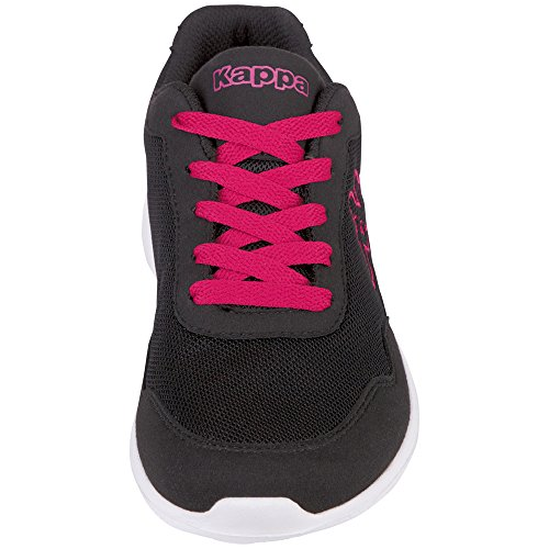 Kappa Apollo, Baskets Mixte Adulte Black/pink
