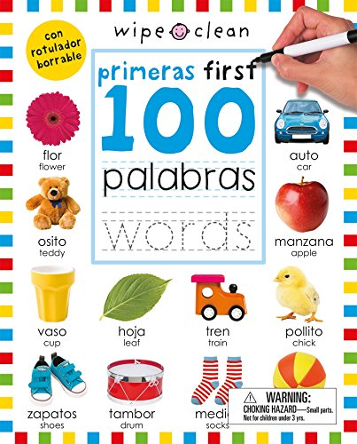 Wipe Clean: First 100 Words Bilingual por Roger Priddy