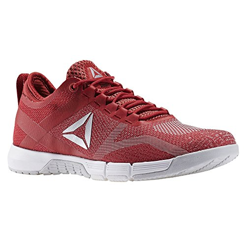 Reebok Damen R Crossfit Grace Tr Sneaker Low Hals Rot (Rosso Canyon Red/fire Coral/skull Grey/wht/slv)
