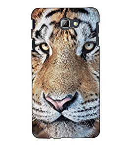 Fuson Designer Back Case Cover for Samsung On5 (2016) New Edition For 2017 :: Samsung Galaxy On 5 (2017) (The tiger theme)
