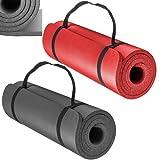 SPORTS Preminum NBR (Nitrilkautschuk) 1,5 cm 15 mm Dick und Superweich Bodenmatte Matte Sportmatte Unterlegmatte Yogamatte Gymnastikmatte