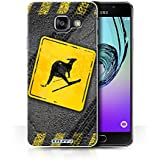 Coque de Stuff4 / Coque pour Samsung Galaxy A3 (2016) / Ski Kangourou Design / Signes Comiques Collection