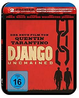 Django Unchained - Steelbook [Blu-ray]
