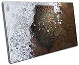 Bold Bloc Design - Destiny Rise of Iron XBOX ONE PS4 Gaming 90x60cm SINGLE Leinwand Kunstdruck Box gerahmte Bild Wand hangen - handgefertigt In Grossbritannien - gerahmt und bereit zum Aufhangen - Canvas Art Print
