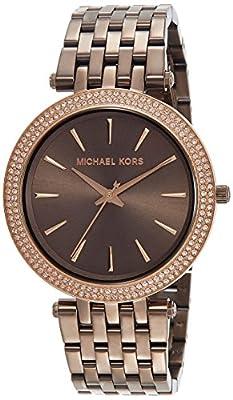 Michael Kors Reloj Mujer de Analogico con Correa en Chapado en Acero Inoxidable MK3416