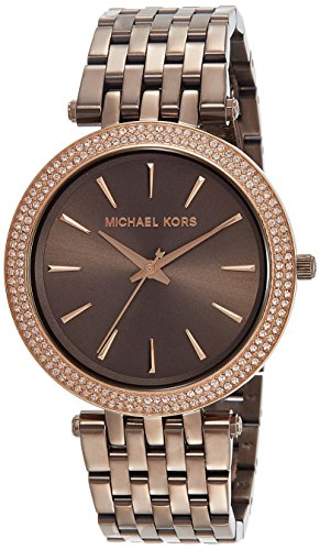 Michael Kors Women's Watch MK3416, Brown