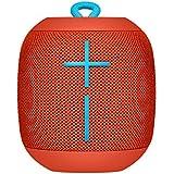 UE Wonderboom - Altavoz inalámbrico Bluetooth, resiste los golpes y es impermeable, con conexión por partida doble, color rojo