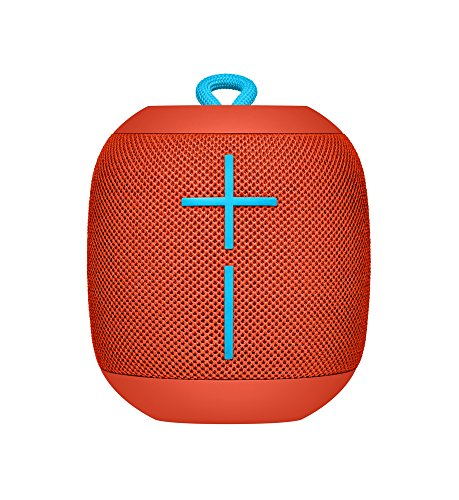 Enceinte Bluetooth Ultimate Ears WONDERBOOM étanche avec connexion Double-Up - Fireball Red
