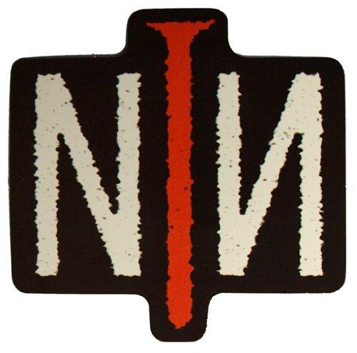 NINE INCH NAILS Aufkleber LOGO NAIL Sticker 9,5 x 9,5 cm