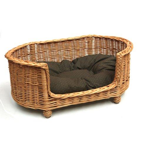 Prestige-Wicker-Luxury-Willow-Dog-Basket-Settee-with-Cushion-Medium