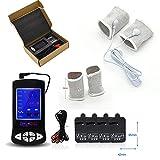 DAYYN Elektrisch Schock Penisring Orgasmus Elektro Schock-Kit Massage Pad Sexspielzeug