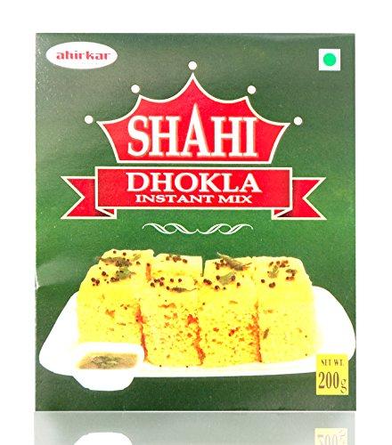 Ahirkar Tea & Dairy Products Pvt Ltd Shahi Dhokla Mix, 200 Grams (Pack of 2)