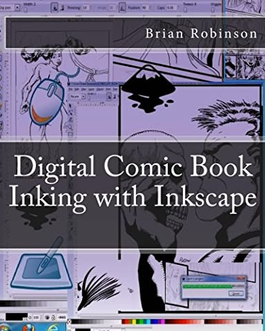 Digital Comic Book Inking with Inkscape