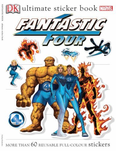Fantastic Four Ultimate Sticker Book by Lisa Lanzarini (Designer) (30-Jun-2005) Paperback