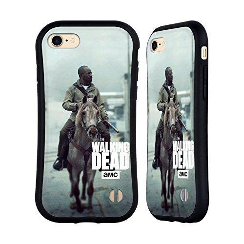 Ufficiale AMC The Walking Dead Morgan Arte Chiave Case Ibrida per Apple iPhone 7