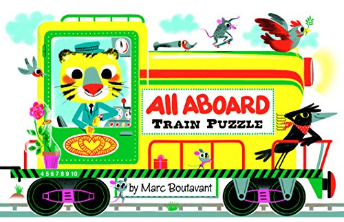 All Aboard Train Puzzle por Marc Boutavant