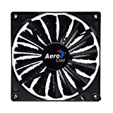 Aerocool Shark 14 cm 15 Blade Fluid Dynamic Bearing Fan - Black