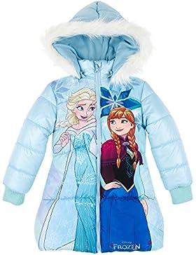Disney Die Eiskönigin Elsa & Anna Mädchen Winterjacke - hellblau