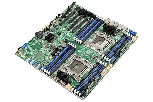INTEL Server Board DBS2600CW2R supports two Xeon E5-2600v3 family CPUS 16 memory sockets