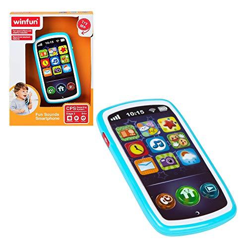 winfun - Teléfono móvil musical para bebés (44523)
