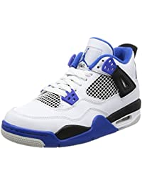 AIR JORDAN 4 RETRO BG (GS) 'MOTOR SPORT' - 408452-117 - US Size