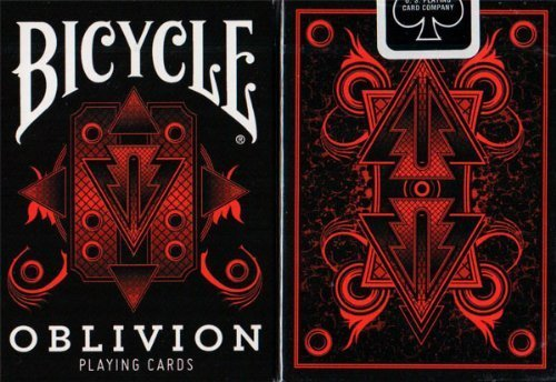 Preisvergleich Produktbild Bicycle Oblivion Deck (Red) by Collectable Playing Cards (Black Seal) by Collectable Playing Cards
