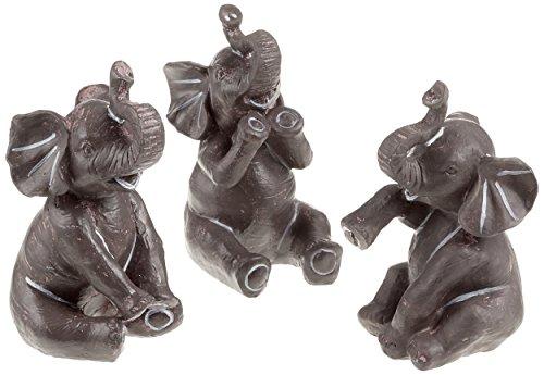 Pajoma con diseño de Elefantes de Altura de 14 cm, polirresina,, Abbilung...