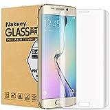 Galaxy S7 Edge Schutzfolie, Nakeey 9H Härtegrad HD-Qualität Full Coverage Displayschutzfolie Displayschutz Screen Protector Für Samsung Galaxy S7 Edge -[Vollständige Abdeckung][Fallfreundlich][Anti-Kratz] Transparent