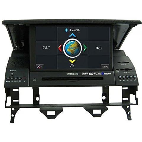 REALMEDIA Mazda 6 OEM Einbau Touchscreen Navigation GPS Multimedia Interface DVD Player MP3 MPE4 USB SD 3D TV iPod USB MPEG2 Bluetooth Freisprecheinrichtung +++mit REALMEDIASHOP