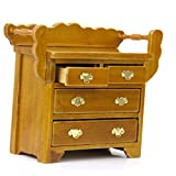 Magideal 1/12 Dollhouse Drawer Chest Min...