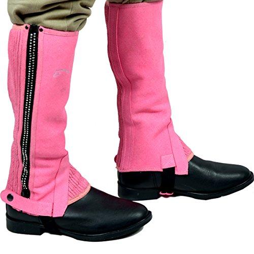 Riders Trend Amara Mini chaps avec fermetures Éclair à strass pour fille Rose Rose grand