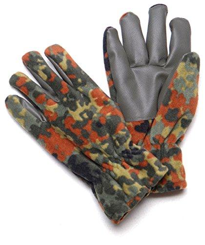 Gants en polaire douce et chaude & alpina camouflage olive et de gants noir taille s-xXXL Flecktarn