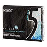Best Chewing Gums - Wrigley's Ascent Wintermint 5 Gum - Sugarfree Chewing Review