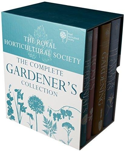 ROYAL HORTICULTURAL SOCIETY :THE COMPLETE GARDENER'S COLLECTION 4 VOLUMES SET [Hardcover] [Jan 01, 2017] Books Wagon [Hardcover] [Jan 01, 2017] Books Wagon