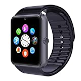 SYL PLUS Bluetooth Smart Watch With Camera and Sim Card Support With Apps like Facebook and WhatsApp For All 3G & 4G Android/IOS Smartphones (BLACK)