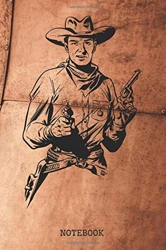 Notebook: Classic Western Cowboy Planner / Organizer