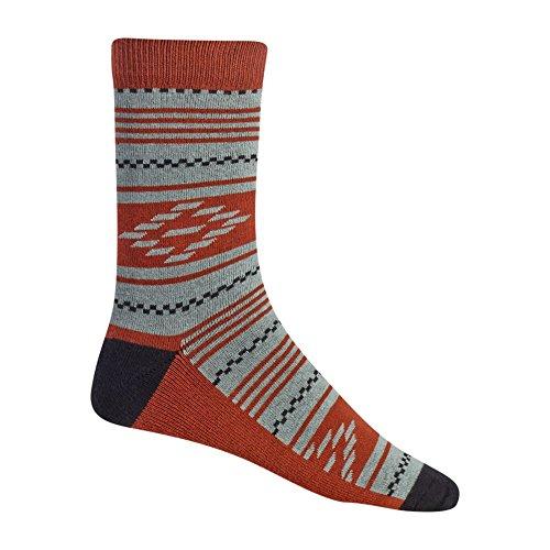 Burton Herren Apres 3 Pack Snowboard Socken, Dazed, L (Knöchel-socken Burton)