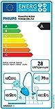 Philips FC9530/09 PowerPro Active (Staubsauger ohne Beutel, TriActive+ Düse, EPA 10-Filter, 750 Watt, EEK A) schwarz, Aktionsradius: 595cm -